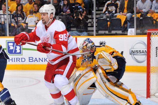 Detroit Red Wings Legend Tomas Holmstrom Set to Retire