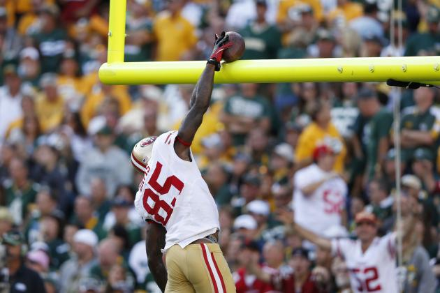 Vernon Davis Is San Francisco 49ers' X-Factor Against the Green Bay Packers
