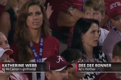 VIDEO: Brent Musburger Ogles Katherine Webb, Dee Dee Bonner
