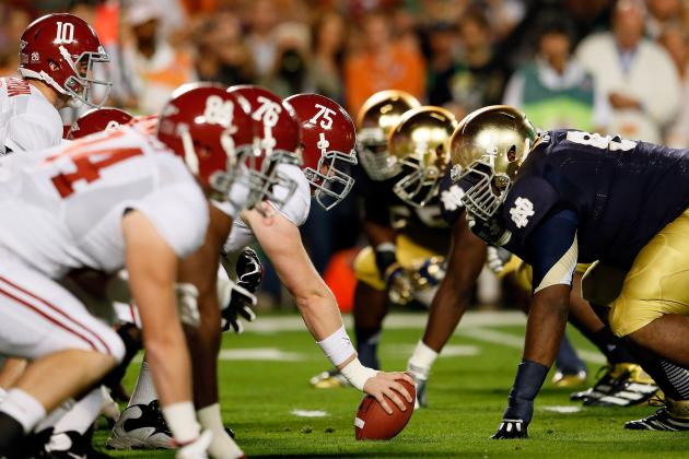 NFL Mock Draft 2013: First-Round Predictions Following Alabama vs. Notre Dame