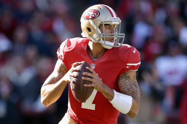 "Harbaugh Says Kaepernick Has ""savant-Like"" Understanding of Playoff Prep"