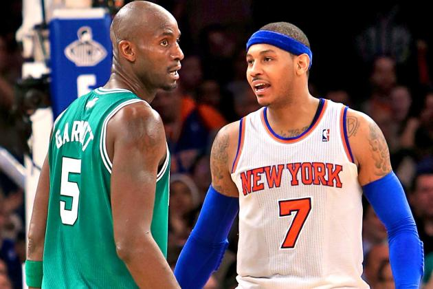 Melo, KG Nearly Come to Blows Both During and After Game