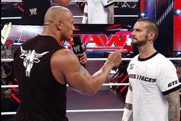 WWE Royal Rumble 2013: Why CM Punk vs. The Rock Will Steal the Show