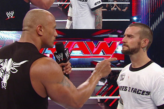 WWE Raw: The Rock and CM Punk Strike Gold Heading into Royal Rumble 2013