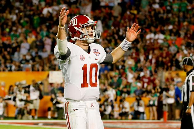 2013 BCS Championship: AJ McCarron Cements Reputation as Best BCS Title Game QB