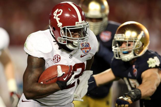 Eddie Lacy Named Offensive MVP of BCS Title Game