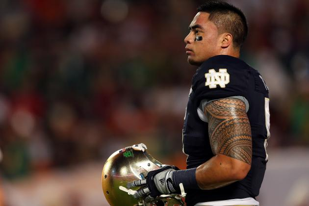 BCS Championship 2013: Manti Te'o's NFL Draft Stock Takes a Huge Hit