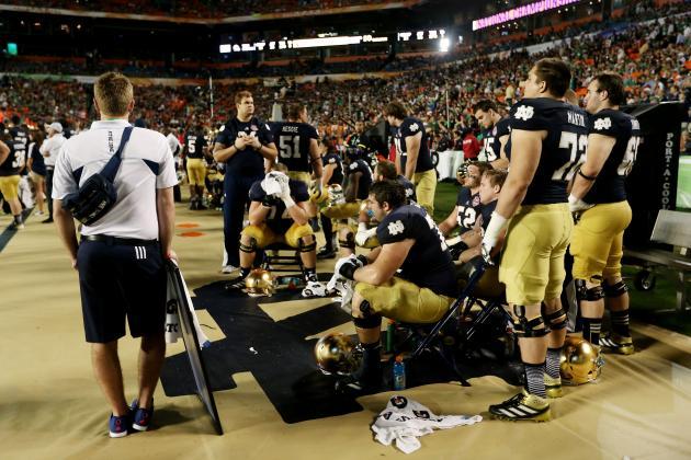 Alabama vs. Notre Dame: Final Game Failure Clouds Future of Irish Program