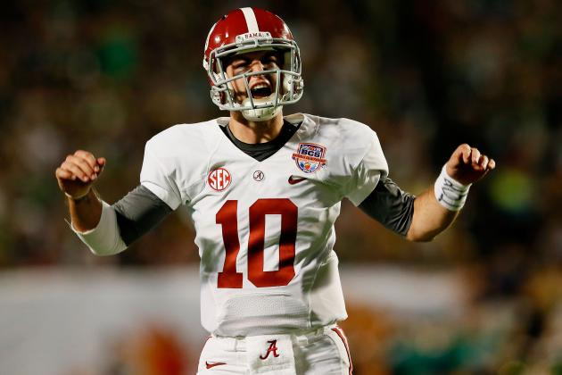 Alabama Football: Will AJ McCarron Go Down as the Best Alabama Quarterback Ever?
