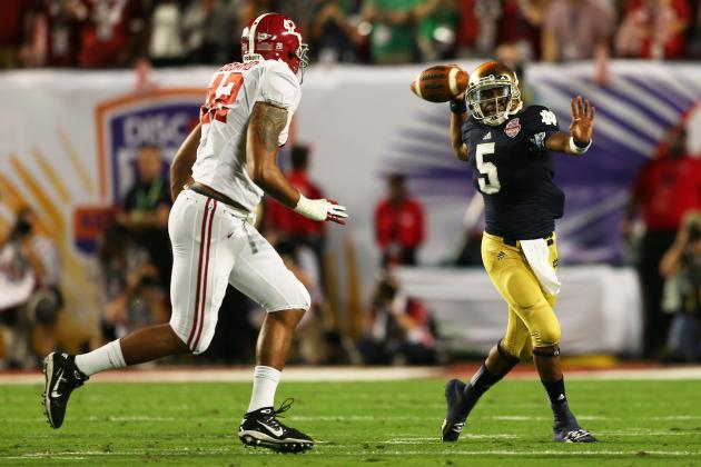 BCS National Championship 2013: Everett Golson Gives Irish Hope Despite Loss