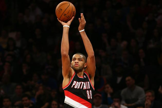 Batum, Blazers Assisted by Bad Back
