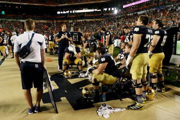 BCS Championship 2013: Irish React to Devastating Loss