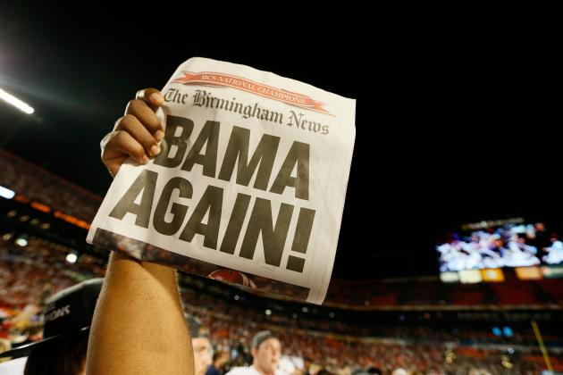 SEC Football: Alabama's Rout of Notre Dame Proves SEC Is in a League of Its Own