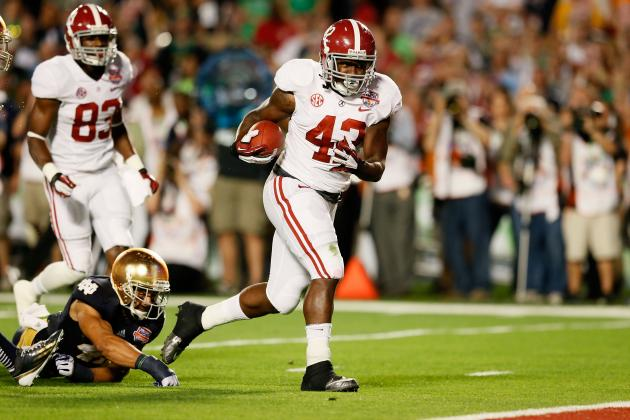 BCS Championship 2013: Power Ranking Alabama's Best Draft Prospects