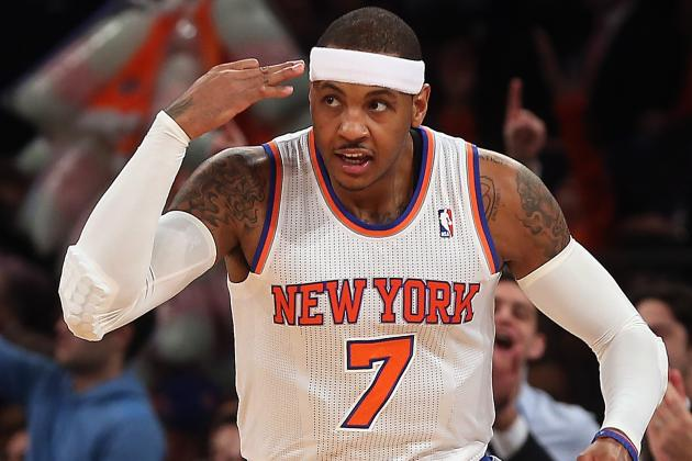 How Carmelo Anthony Can Pass Lebron James and Kevin Durant in the MVP Race