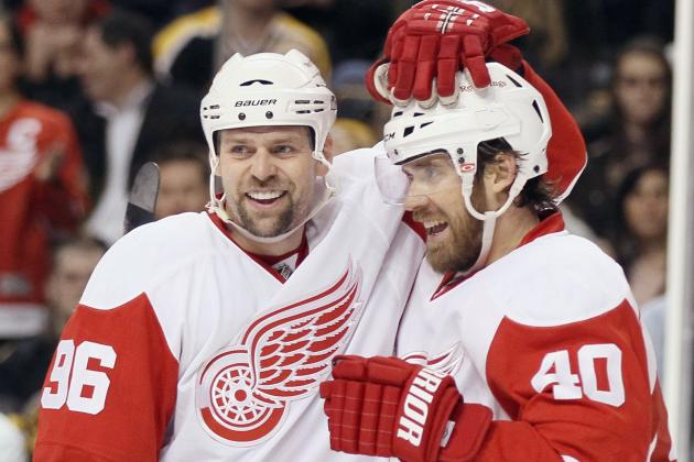 Henrik Zetterberg to Be Detroit Red Wings Captain, Tomas Holmstrom to Retire