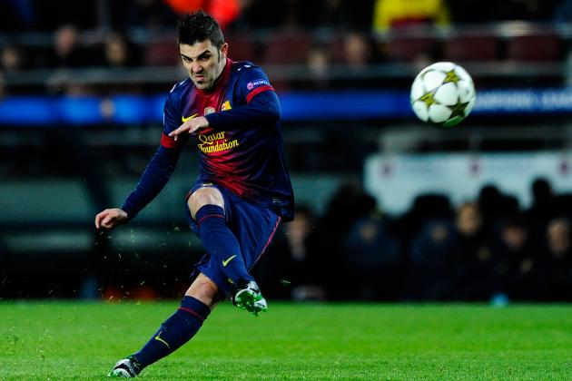 David Villa on Arsenal's Radar to Ease Pressure from Arsene Wenger