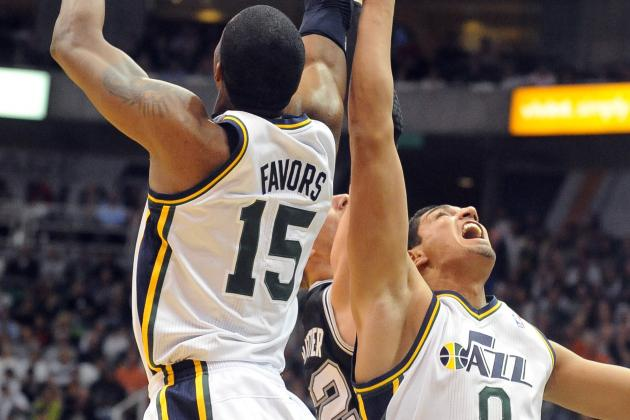 How Good Could Derrick Favors and Enes Kanter Front Line Be for Utah Jazz?