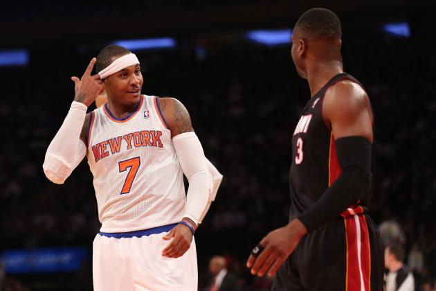 With Knicks and Heat Rising, Could NBA Power Be Shifting East?