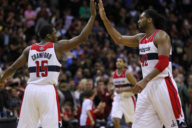 Wizards' Nene, Crawford out vs. Thunder