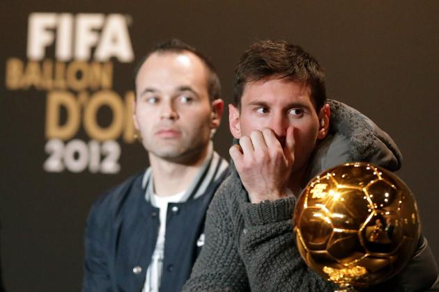 FIFA Ballon d'Or: Why Iniesta Deserved the Award over Messi