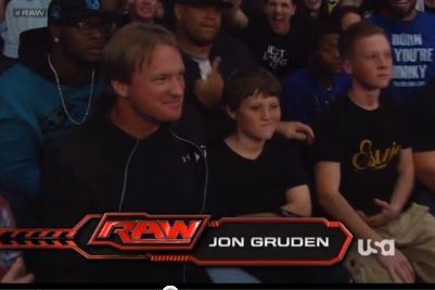 Where in the World Was Jon Gruden Last Night?