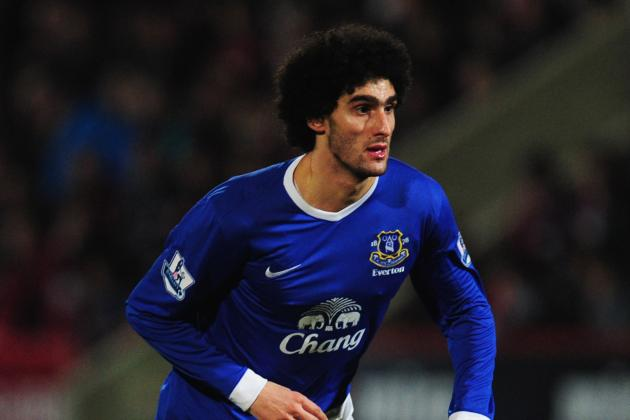 Chelsea and Arsenal Lead Race to Trigger Fellaini's £22M Buyout Clause