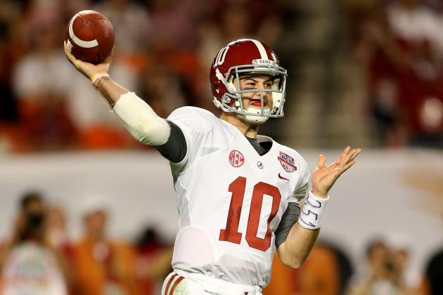 AJ McCarron Makes Alabama a Lock for the Three-Peat Next Season