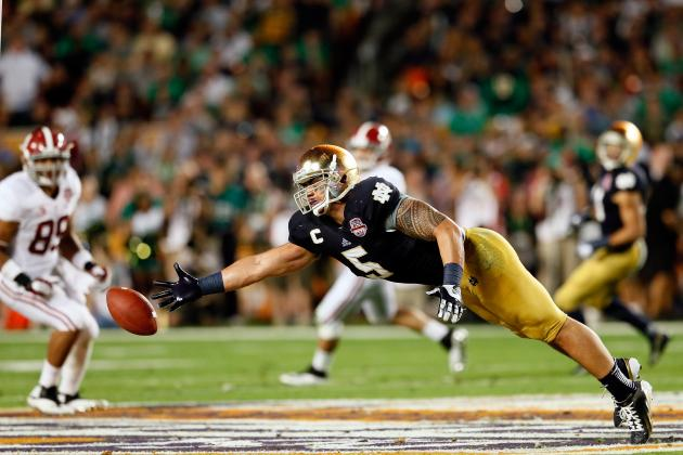 Manti Te'O: Why Notre Dame's Blowout Loss Doesn't Hurt LB's Draft Stock