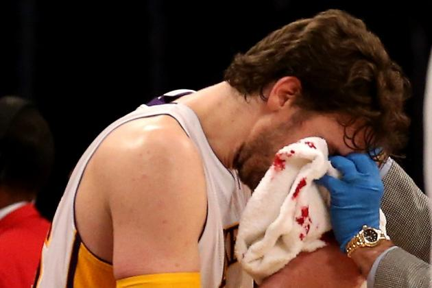 Pau Gasol Injury: Lakers Should Use Star as Sixth Man When He Returns
