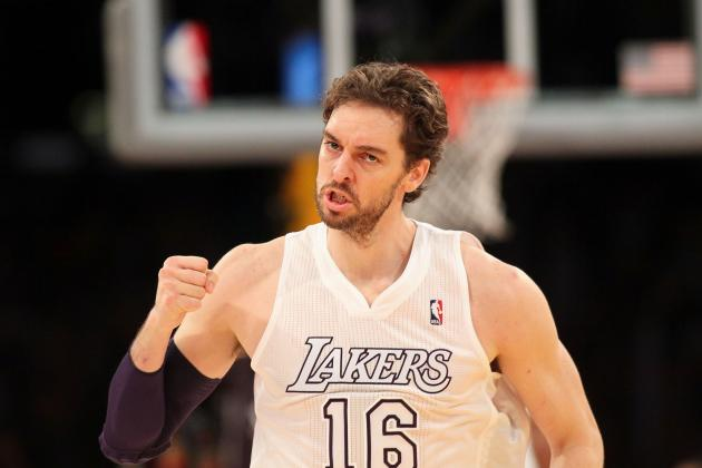 Pau Gasol Injury Update: Concussion Puts Lakers' Playoff Chances in Jeopardy