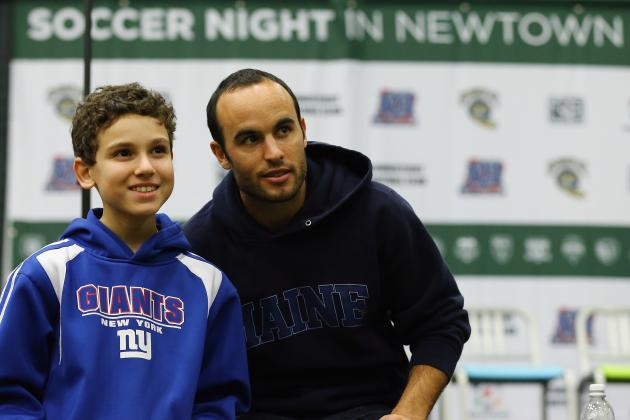 Newtown Kids Get Visit from U.S. Soccer Stars