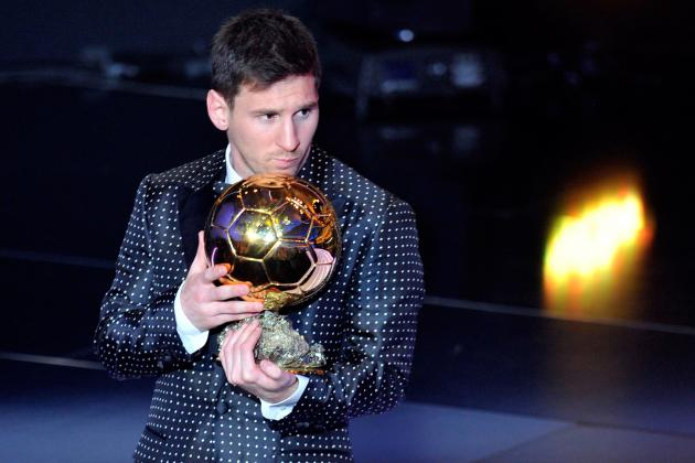 Messi Wins Ballon d'Or Award for 4th Time