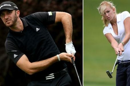 Dustin Johnson Dating Paulina Gretzky