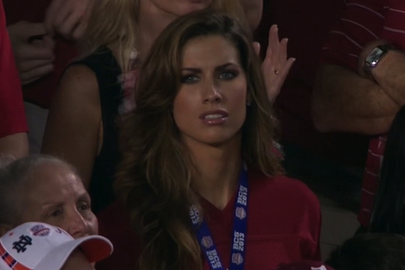 AJ McCarron's GF 'Flattered' By ESPN's Attention