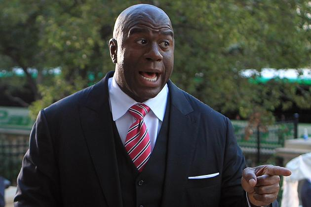 Magic Johnson goes on a Twitter rant about the Lakers