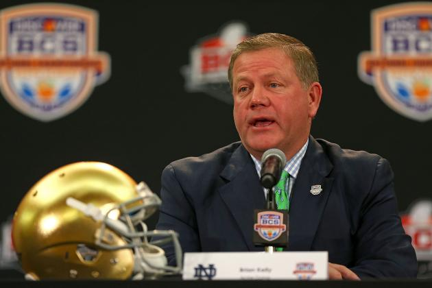 Kelly: BCS National Championship Game Defeat 'going to Make My Job Very Easy'