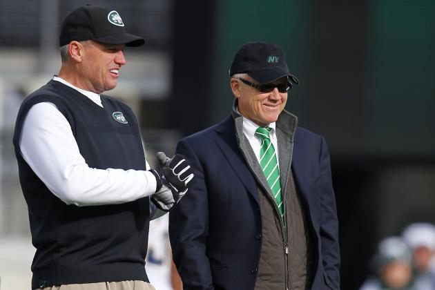 Rex Ryan, Woody Johnson Sidestep QB Questions