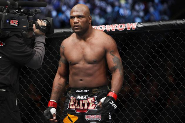 'Changed' Rampage on Teixeira Bout: 'I Really Want This One