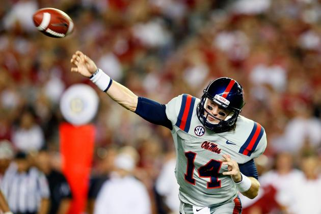 Surgery Likely Knocks Ole Miss' Starting QB out of Spring Practice