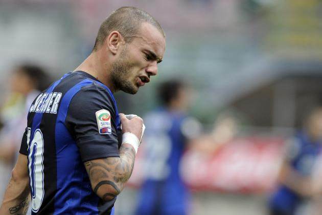 Breaking Down How Wesley Sneijder Would Fit with Tottenham at White Hart Lane