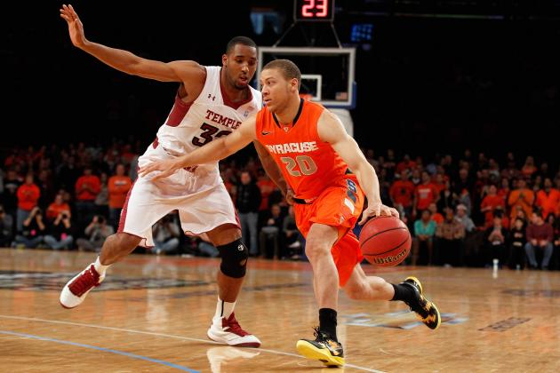 Syracuse Guard Brandon Triche Is the Big East Player of the Week