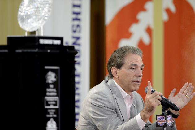 Saban on Playoffs: 'You Can't Sneak Yourself In'
