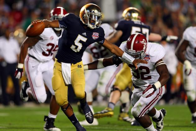 BCS Championship 2013: Should Brian Kelly Have Let Tommy Rees Play?
