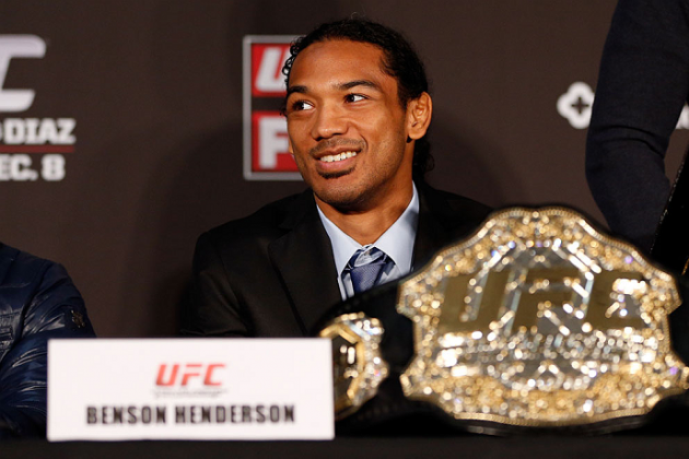UFC Lightweight Champ Benson Henderson Tops Jon Jones for 'Best Fighter of 2012'