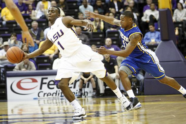 LSU Guard Anthony Hickey Getting Back on Track