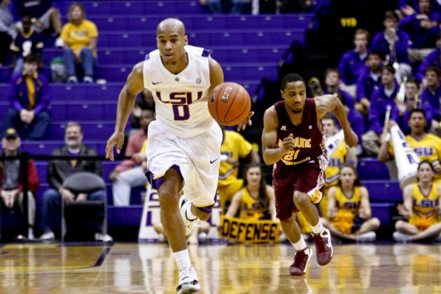 LSU Men Close Nonconference Play with Win