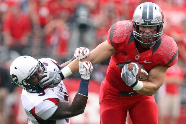 Rutgers Eagerly Awaiting the Return of Fullback Michael Burton This Spring