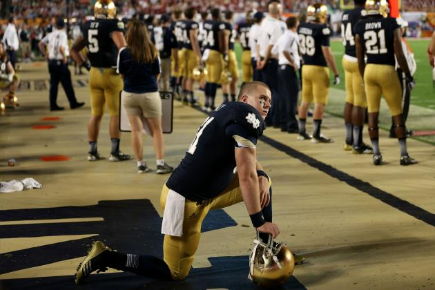 Notre Dame Football: Irish Fans Ridiculous to Blame Refs for BCS Title Game Loss