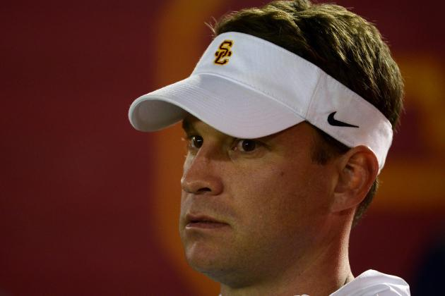 Watching the BCS on TV, Lane Kiffin Thinks About Big Picture for USC